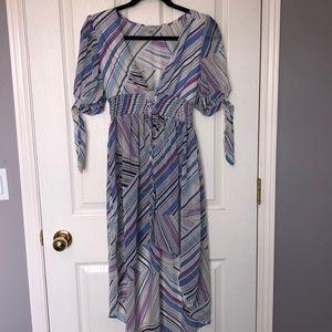 Fashion Nova blue/lavender top
